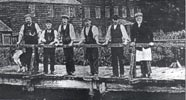 Littler's works at the Merton Abbey print works in the 1890s